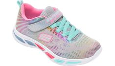Pantofi sport SKECHERS multicolori, Litebeams Gleam N Dream, din material textil Girls Skechers, Color Fly, Online Shopping Shoes, Fabric Shoes, Shoe Size Chart, Childrens Shoes, Baby & Toddler Clothing, These Girls, Running Shoes