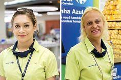 As pessoas estão elogiando o Carrefour por celebrar suas funcionárias trans Respeito e oportunidade para todos.