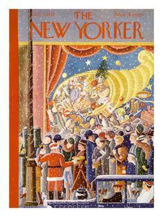 §§§ : The New Yorker Cover : 1933  : Ilonka Karasz