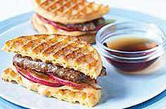 Sandwich de gaufres au grille-pain