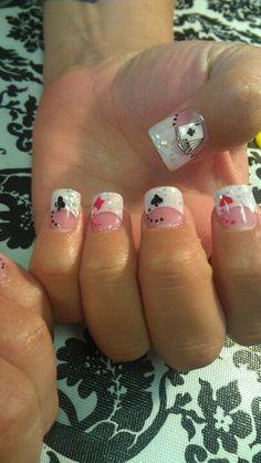 Shidale nails, Vegas nails, the suits.