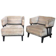 Pair of Mid-Century Modern Chairs 1