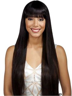 What do you think about this wig? $5 Coupon Code: KIMWIGS5 Wig Hairstyles, Straight Hairstyles, Bobbi Boss Wigs, Sophisticated Hairstyles, Monofilament Wigs, Full Lace Front Wigs, Celebrity Wigs
