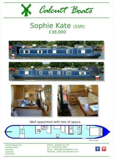 1999 55 ft Southwest Duran Steelcraft boat powered by a Yanmar Shire with a PRM Delta. Back steps with cupboard and shelf space. Into an open plan lounge with a sofa bed. Galley with gas hob, oven, 12v fridge and stainless sink. Dining area with multi fuel stove and dinette that converts into a double bed. Bathroom with pump out toilet, washbasin, shower over a hip bath. In the Bow is a double bed, wardrobe and access out either side of the boat. Boat safety until 2023. Canal Boat Holidays, Back Steps, Multi Fuel Stove, Boat Safety, Stainless Sink, Boats For Sale, Heating Systems, Double Beds, Open Plan