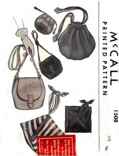40s Vintage Sewing Pattern McCall 1508 by allthepreciousthings, $58.00