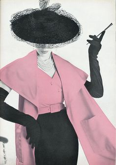 Stylish 1951 fashion.