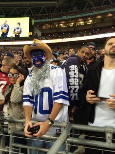 Dallas fans make it out to London! #CowboysLondon #CowboysNation