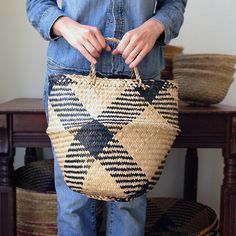 Rice baskets - starting at $16 - Traditionally used for carrying rice from the fields, these baskets are made from salt water reed that is sustainably grown and harvested, flattened and then woven by Vietnamese artisans. The clever design allows the top half of the basket to fold inward, transforming the bag into a bowl.