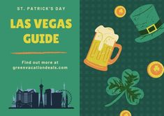 Guide to celebrating St. Patrick's Day in Las Vegas: Paddy Fest menu at Irish Pub at Mandalay Bay, LINQ Observation Wheel green, Plaza Casino entertainment. St Patricks Day holiday travel ideas. #StPatricksDay #StPattysDay #StPatricksDay2021 #StPattysDay2021 #LasVegas #Vegas #Vegasbaby #LINQ #Irish #Irishpride #GoIrish #MandalayBay #LA #SaintPatricksDay #PaddyFest #LV Las Vegas Travel Guide, Las Vegas Vacation, Las Vegas Restaurants, Las Vegas Hotels, Mandalay Bay Resort, Irish Drinks, Holiday Travel, Holidays And Events, St Patrick