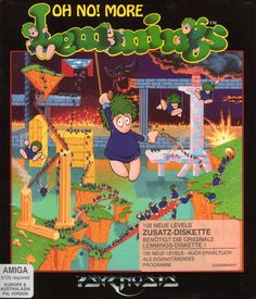 Psygnosis - Oh No! More Lemmings
