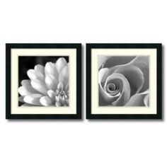 2-pc. Pretty Petals Framed Wall Art Set