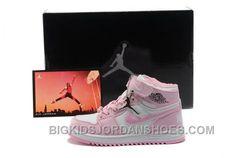 Nike Michael Jordan 1 Phat White and Pink Shoes(Kids/Youth) 28353 Jordan Shoes For Kids, Nike Shoes For Boys, Nike Running Shoes Women, New Jordans Shoes, Nike Shoes Cheap, Nike Free Shoes, Nike Shoes Outlet, Kids Jordans, Air Jordan Shoes