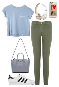 """New York Love"" by summerloveforever335 on Polyvore featuring Oasis, adidas, Givenchy, Beats by Dr. Dre, Casetify, women's clothing, women's fashion, women, female and woman"
