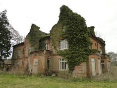 """""""Norfolk, UK - Bessingham Manor was built in 1870, the date stone can be seen on the west elevation. The last Spurrell owner, Edmund Denham Spurrell, is described as having been a bit of an eccentric. He used to keep a bear at the manor which one day escaped and attacked one of the housemaids."""""""