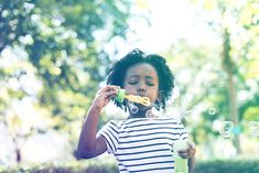 Premium image by rawpixel.com Kids Around The World, Blowing Bubbles, African Girl, Model Release, Pretty People, Kids Girls, Cute Kids, Joy, Park