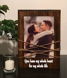 Couple picture frame - boyfriend gift - gift for him - gift for men - husband gift - gifts for boyfriend - gift for husband - couple frame