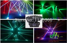 Find More Stage Lighting Effect Information about 2014 latest  dmx  led stage light  8pcs* 10W 4in1 RGBW CREE lamps led Spider  beam lights  high quality dj disco dj lights,High Quality led cree bike light,China light wood tv stand Suppliers, Cheap led light parts from hh-perfect brand lighting store on Aliexpress.com