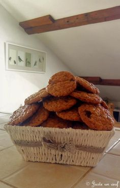Cookies choc'avoine