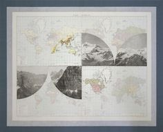 The Victory Atlas: Collages by Elena Damiani