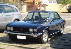 1970 Fiat 124 Sport Coupe - the first new car I ever bought and the most beautiful. I used to cruise through Quebec at 100 mph.