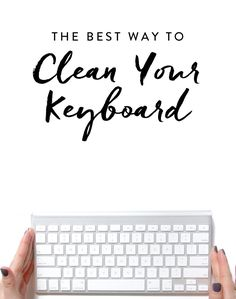 Keep your keyboard clean and happy with these easy cleaning techniques.