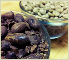 Find out our new secret.. curing coffee with cacao!