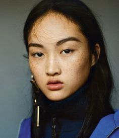 Jing Wen photographed by Matteo Montanari for i-D F/W 2014
