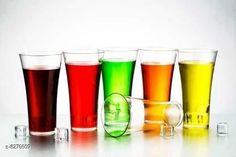 Checkout this latest Water Glasses Product Name: *Niebla (Pack of 6) Premium Quality Poly Carbonate Stylish Transparent Glass Glass Set  (250 ml, Plastic)* Material: Plastic Pack: Pack of 1 Length: 5 cm Breadth: 15 cm Height: 10 cm Size (in ltrs): 250 ml Country of Origin: India Easy Returns Available In Case Of Any Issue   Catalog Rating: ★4.1 (744)  Catalog Name: Essential Water Glasses CatalogID_1382610 C136-SC1603 Code: 052-8276609-999