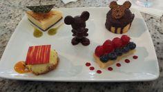 Dessert platter at Grand Floridian Cafe... yum!