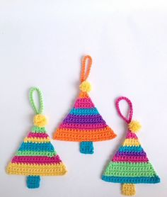 Christmas Tree Decoration Free pattern by Poppy & Bliss (Michelle Robinson)  ✿⊱╮Teresa Restegui http://www.pinterest.com/teretegui/✿⊱╮