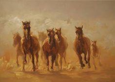 "Saatchi Art Artist Zil Hoque; Painting, ""Light Chargers"" #art"