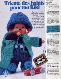 Pour obtenir les explications cliquer sur le lien suivant: kiki par La malle ô trésor de Sylvie Baby Dolls, Barbie, Crochet Hats, Teddy Bear, Knitting, Mini, Arts, Images, Woman