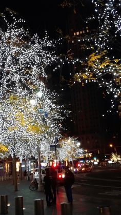 The lights in NYC have begun!