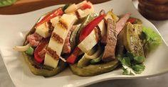 Receta de Tacos de Filete con Tortilla de Nopal