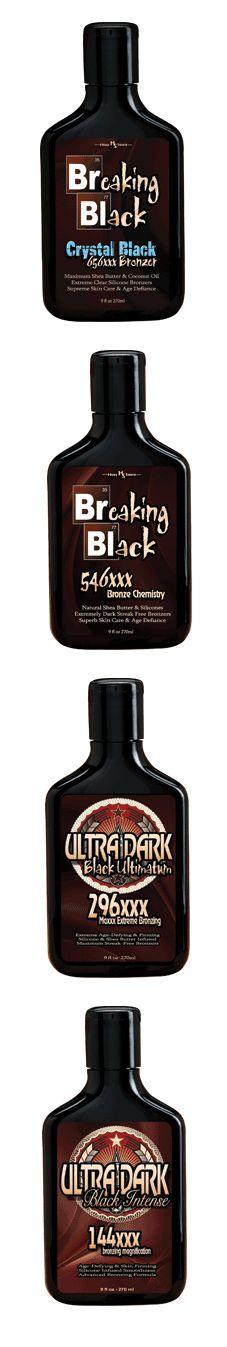 The 4 Darkest Tanning Bronzers Ever! Breaking Blacks and Ultra Darks #tanning #bronzer #top10 [http://www.lotionsource.com/hosssauce.html]