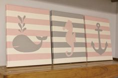 Hey, I found this really awesome Etsy listing at https://www.etsy.com/listing/166061191/nautical-nursery-baby-girl-boy-seahorse
