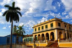 cuba125: Trinidad, Sancti Spíritus, Cuba: Brunet Palace, now the Romantic Museum - Museo Romántico - Plaza Mayor - photo by A.Ferrari - (c) Travel-Images.com - Stock Photography agency - Image Bank