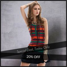 Today Only! 20% OFF this item. Follow us on Pinterest to be the first to see our exciting Daily Deals. Today's Product: Sale -  Top Tank Buy now: http://www.urbanforlife.com/products/copy-of-tank-top?utm_source=Pinterest&utm_medium=Orangetwig_Marketing&utm_campaign=Daily%20Flash%20Sales #musthave #loveit #shop #shopping #onlineshopping #photooftheday #picoftheday #love #sale #dailydeal #dealoftheday #todayonly # #fashionstyle #womensfashion #womenswear #womensclothing #womenclothing…