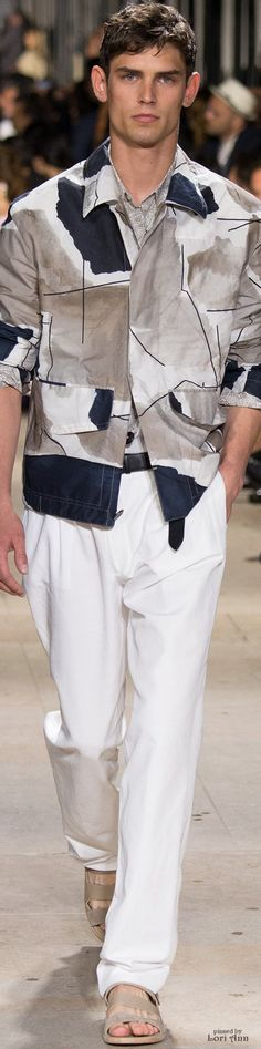Hermès 2015 | Men's Fashion | Menswear | Men's Outfit for Spring/Summer | Smart Casual | Moda Masculina | Shop at designerclothingfans.com