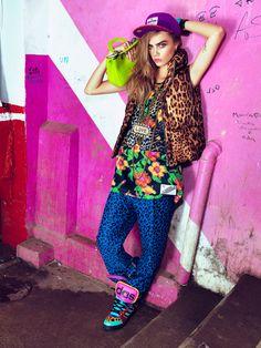 """""""Уличный кутюр"""": Кара Делевинь для Vogue Brazil — BESTIN.UA"""