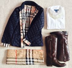 """Burberry Jacket - I have been in love with this for ages but the BF thinks it's too """"old"""" looking.... Men."""