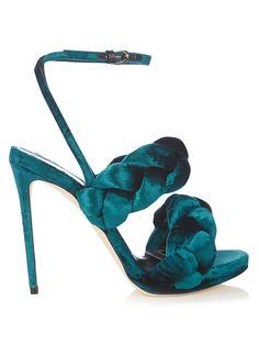 Velvet high-heel sandals | Marco De Vincenzo | MATCHESFASHION.COM AU