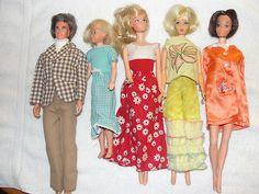 Vintage Lot of Barbie Dolls with Ken and Skipper Too | eBay