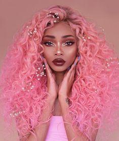 51ef0203db5 30 Top Black girl Pink hair images
