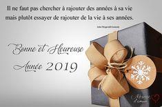 Textes de voeux: Bonne année 2019 Nouvel An Citation, Happy New Year Message, Messages, Place Card Holders, Quotes, Cards, Moment, Mantra, Images