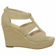 #hot MICHAEL MICHAEL KORS Women's Damita Wedge (Natural Hemp 7.5 M)