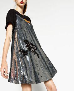 ZARA - WOMAN - SEQUIN DRESS