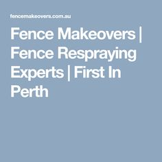 Worn-out fence spoiling your garden? We turn tired Perth fences into modern backdrops. See our fence spray paiting makeovers.