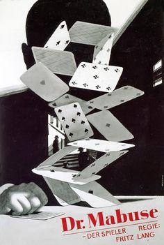 """Stunning german for 'Doktor Mabuse, der Spieler/Dr. Mabuse the Gambler' Fritz Lang. Gambling Games, Gambling Quotes, Fritz Lang, Card Tattoo, Poker Chips, Dinners For Kids, Kids Nutrition, Slot Machine, Healthy Kids"