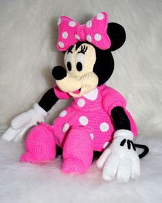 Minnie Mouse Amigurumi Free Pattern Crochet